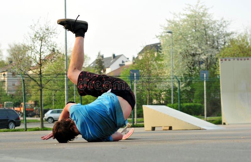 Skateboarding immagine stock libera da diritti