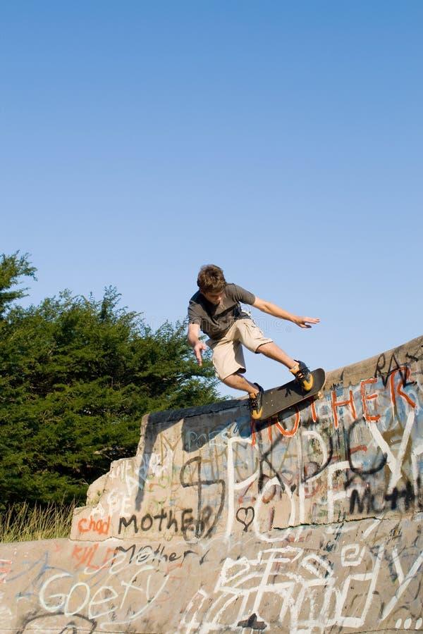 skateboarding стоковое фото