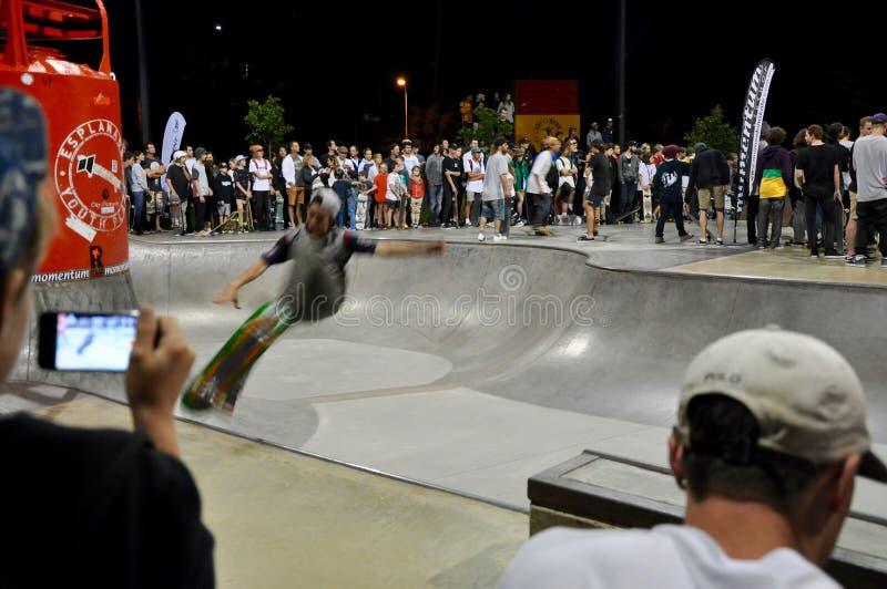 Skateboarding Showcase royalty free stock photos