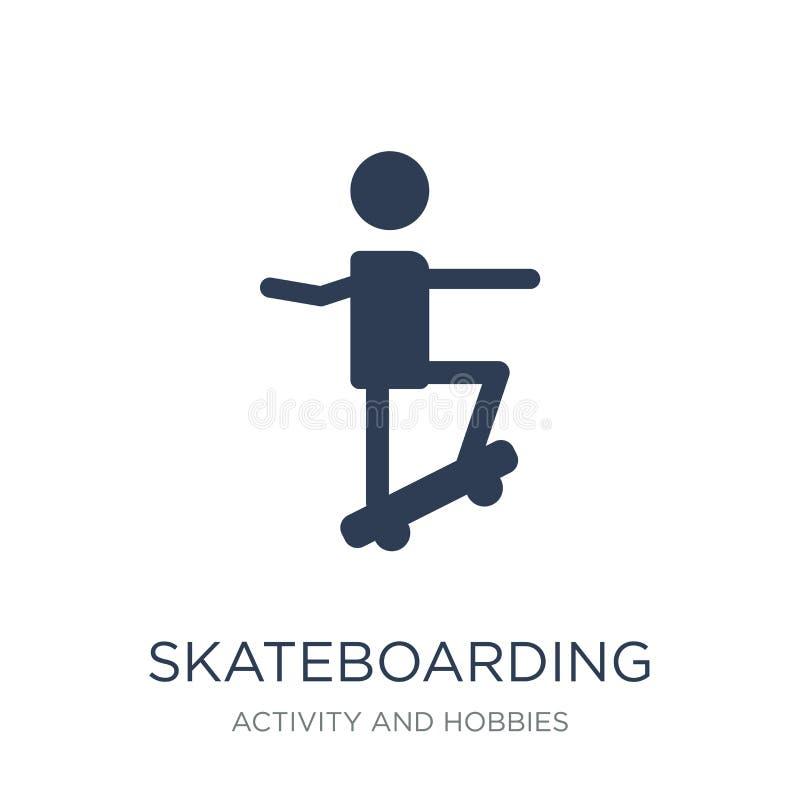 skateboarding symbol  stock illustrationer