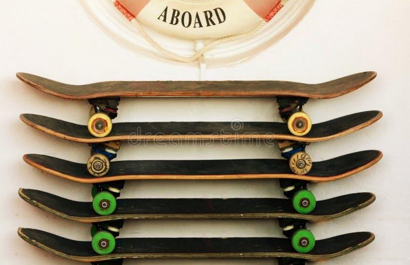 skateboards stock afbeelding
