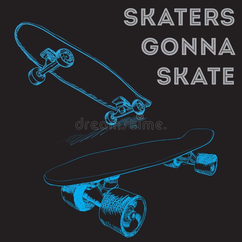 skateboards απεικόνιση αποθεμάτων