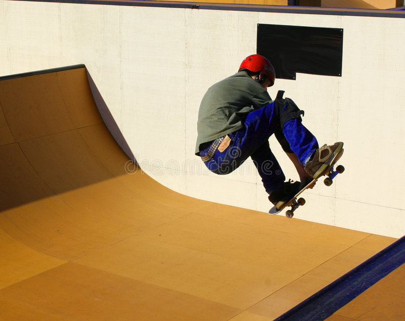 skateboardsport arkivbild
