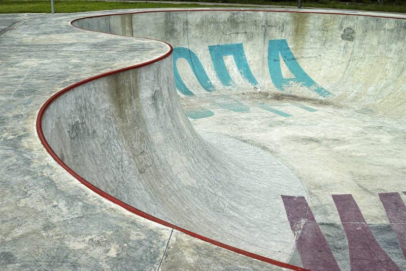 Skatepark 免版税库存图片