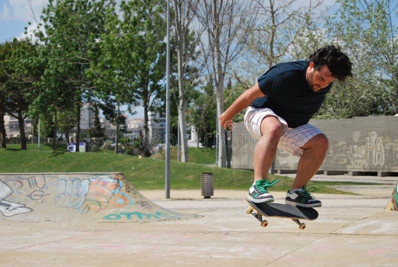 Skatepark expo i Lissabon, Portugal royaltyfria foton