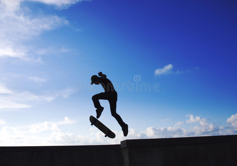 Skater stock photography