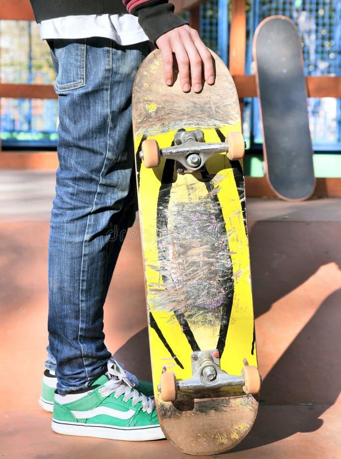 Skater fotos de archivo libres de regalías