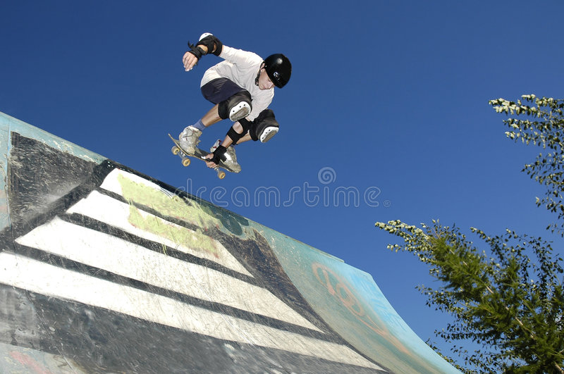 Skater foto de archivo