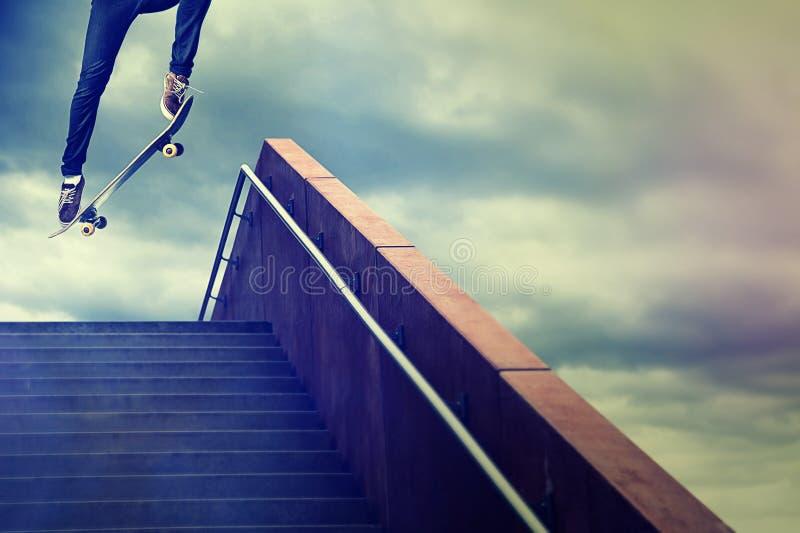 skater royalty-vrije stock fotografie