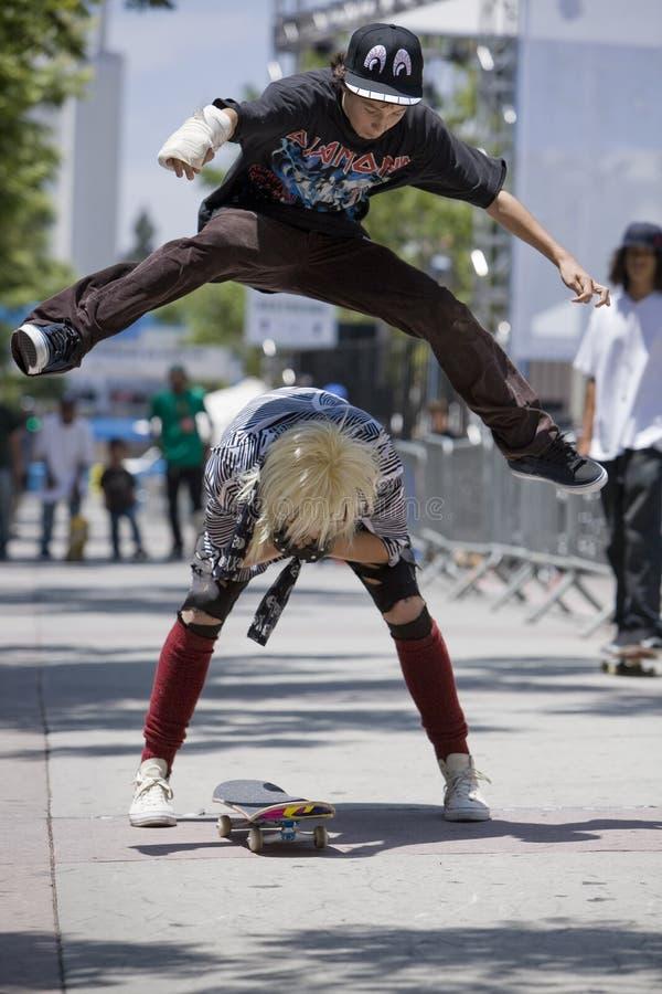 Skater 7 fotos de stock royalty free