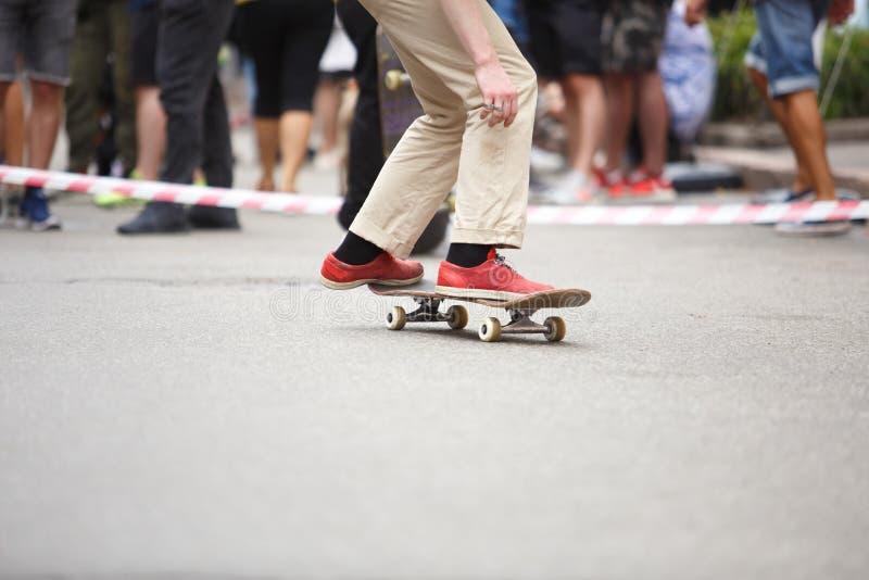 Teen skater boys