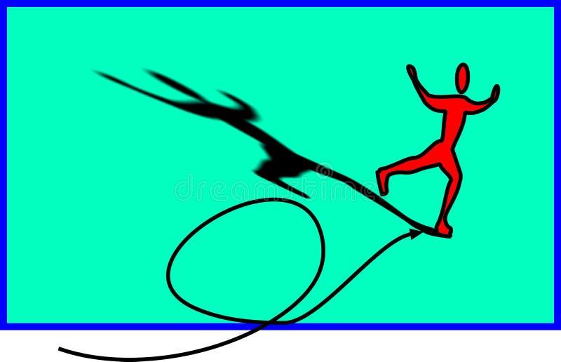 Download Skater on ice stock illustration. Image of athletic, illustration - 2655600