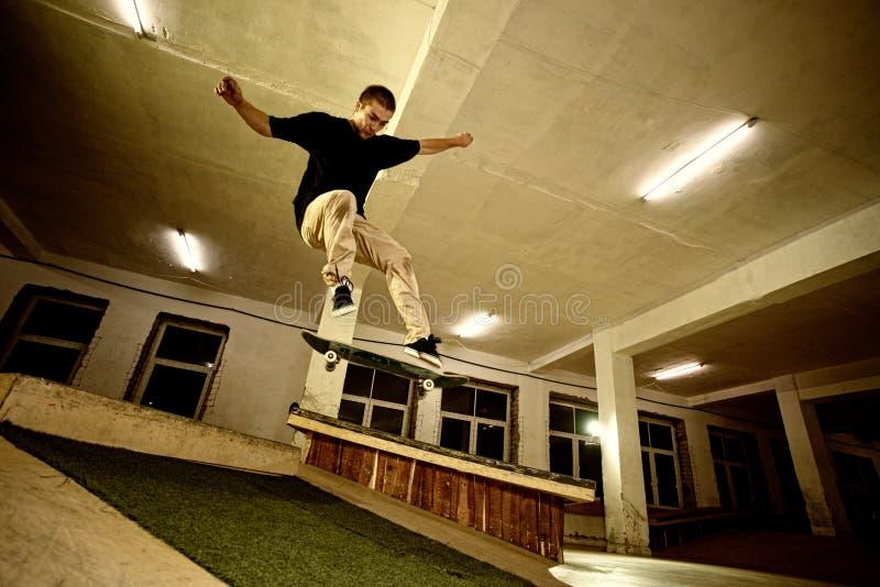 Download Skater jumping stock photo. Image of board, casual, balance - 29256412