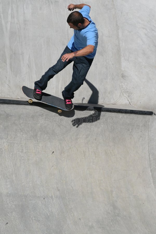 Download Skater On The Lip Stock Image - Image: 1864651