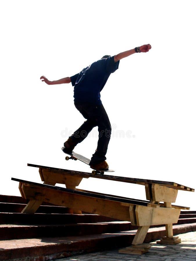Skater Nosegrind fotos de stock