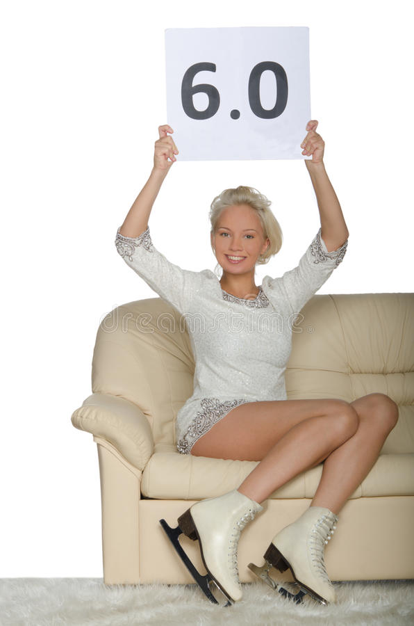 Download Skater sitting on a sofa stock photo. Image of raised - 37112362