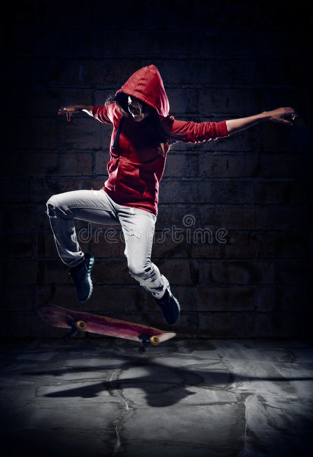 Download Skater trick stock photo. Image of person, serious, athletic - 27587476