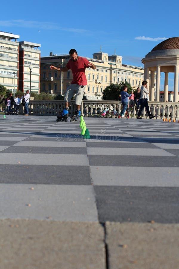 skaters stock foto's
