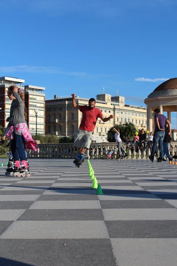 skaters foto de stock