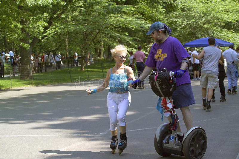 Download Skaters In Central Park NYC Editorial Stock Photo - Image: 22226958