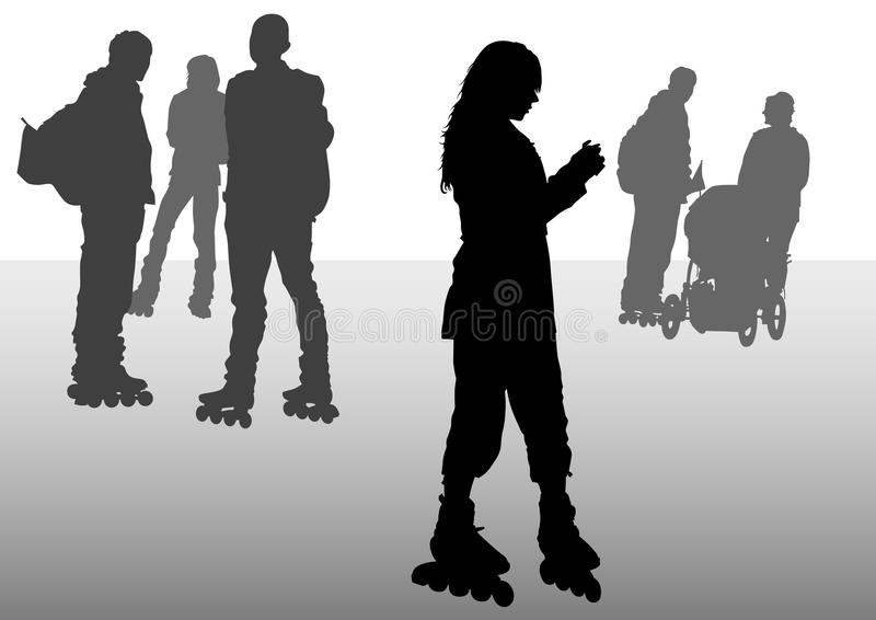 Download Skates People Stock Photos - Image: 13104073