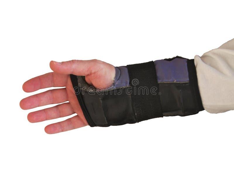 Skating Wrist Guard royalty free stock image