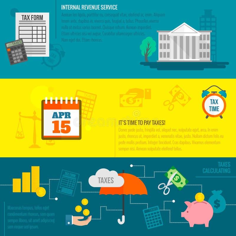 Skattbaneruppsättning stock illustrationer