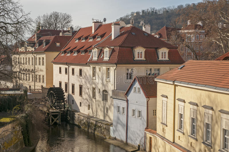 Skatter av Prague arkivbild