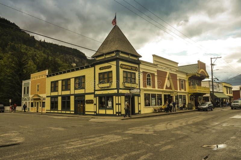 Skaway Alaska royalty-vrije stock foto's