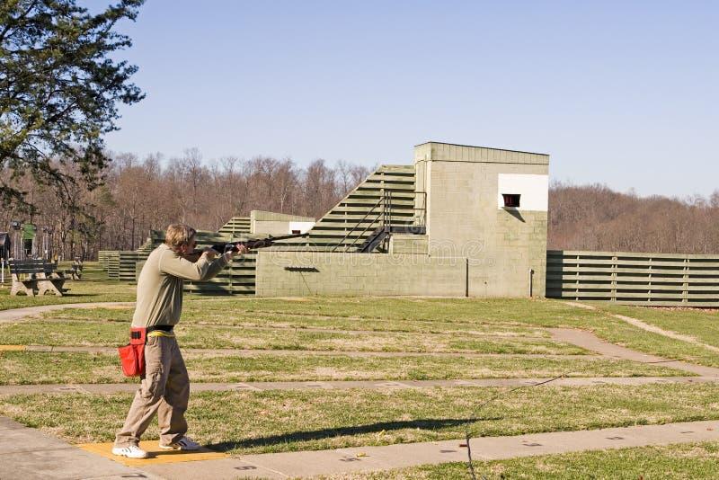 Skeet Shooter II royalty free stock photo