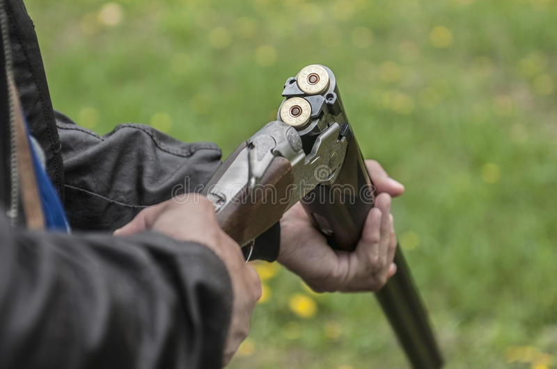 Skeet Shooting photo stock