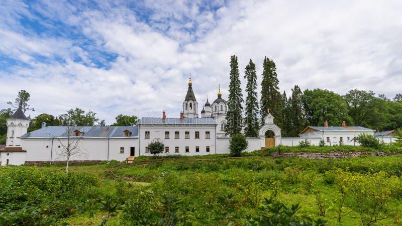 Skeet todos los santos Monasterio de la transfiguración del salvador de Valaam fotos de archivo libres de regalías