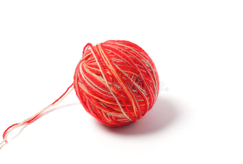 Skein of yarn stock photography