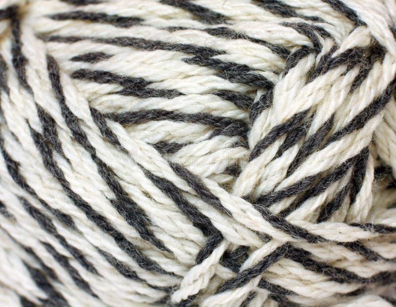Skein of yarn melange closeup. As a texture stock photos