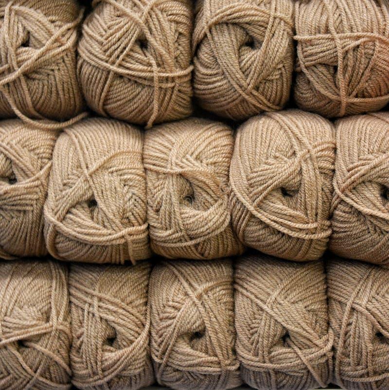 Skeins de lã de Colorfull imagem de stock royalty free