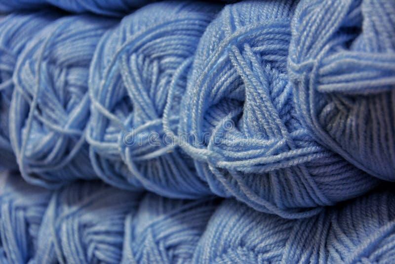 Skeins de lã de Colorfull imagem de stock