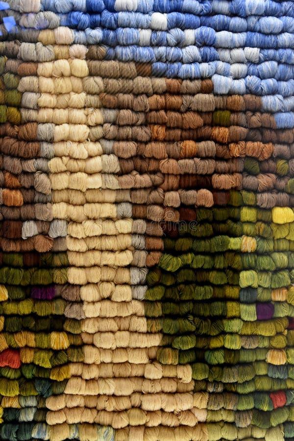Skeins de lãs dos carneiros imagem de stock royalty free
