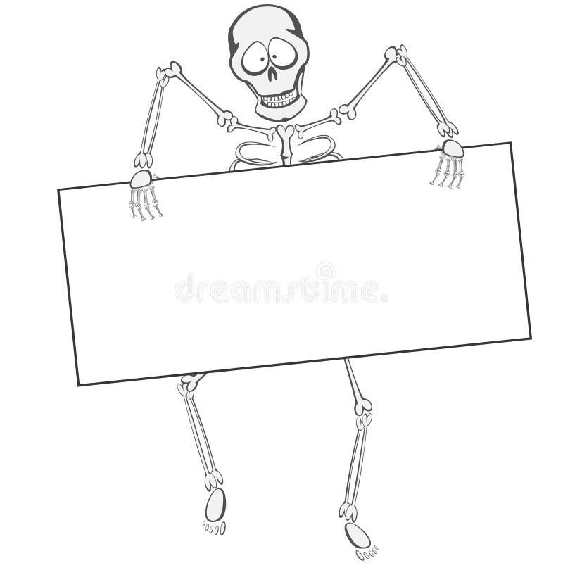 Skeleton Buddy royalty free illustration