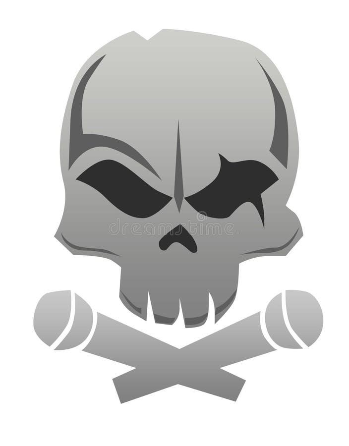 Skeleton_Head стоковые фото