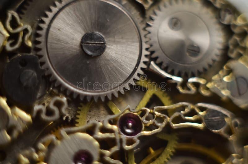 Skeleton hours. Antique antique clockwork, jewelry engraving. mechanical pocket watch close-up, selective focus. Mechanism with gears. clockwork skeleton stock photos