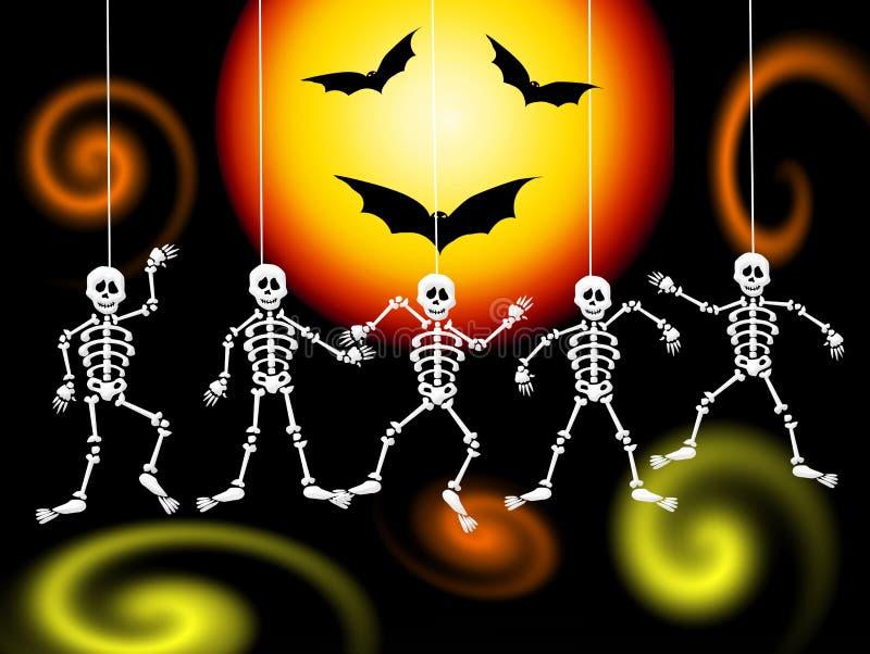 Skeletons Stock Image