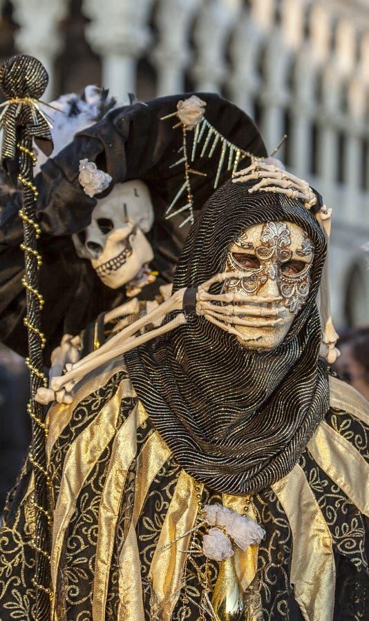Skelett- förklädnad arkivbild