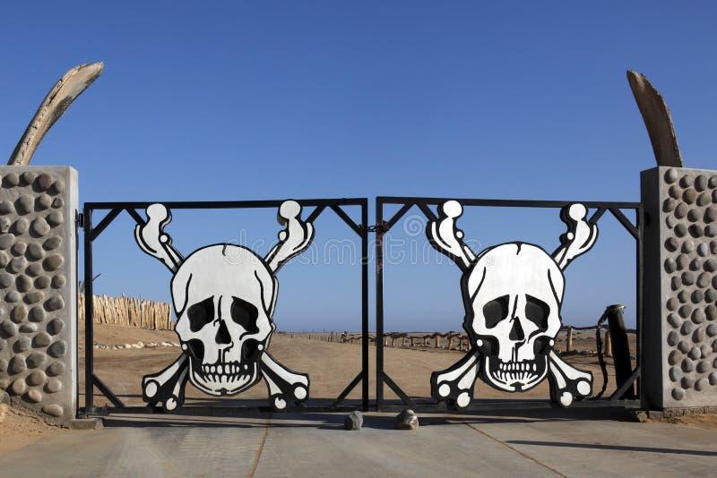 skelett för kustnamibia nationalpark royaltyfria foton