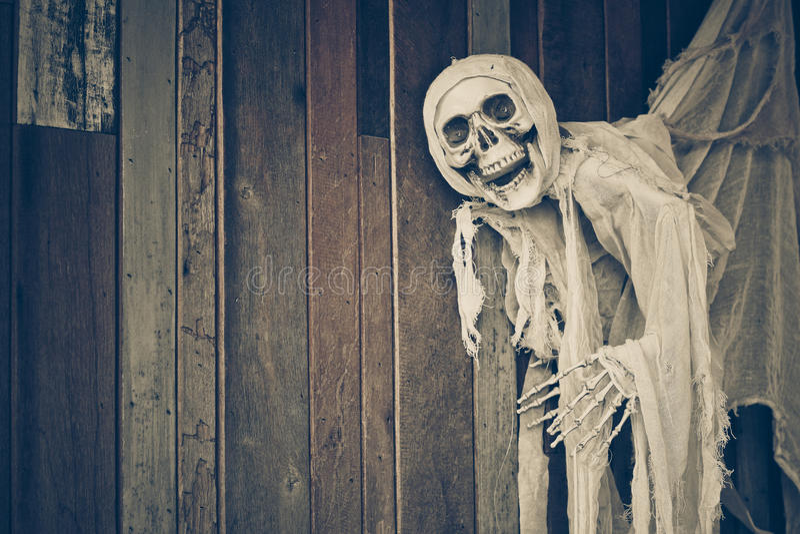 Skelett- spöke arkivbilder