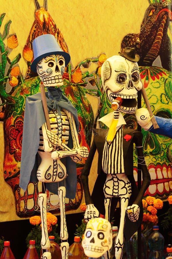 Skeletten II stock illustratie