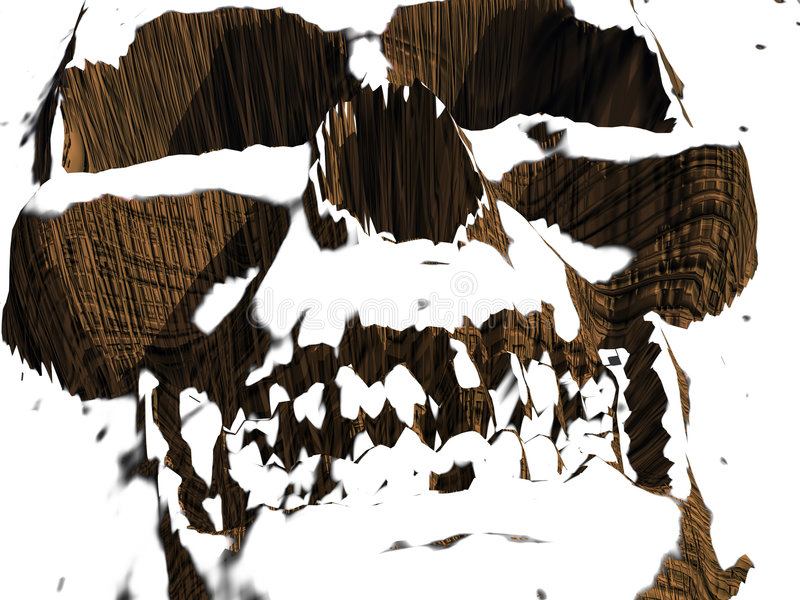 Skeletton stock de ilustración