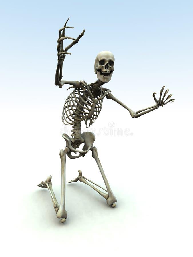 Skelton 33 vector illustratie
