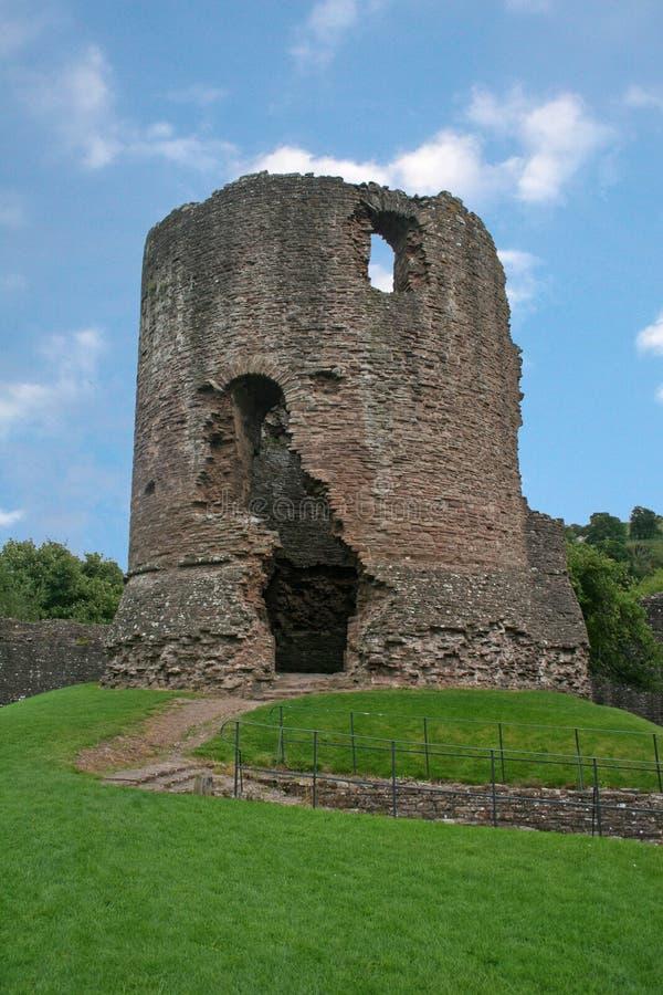 Skenfrith Schloss lizenzfreie stockbilder
