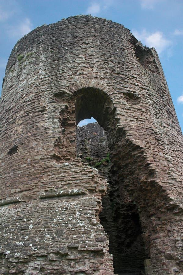 Skenfrith Schloss, Wales lizenzfreie stockfotos