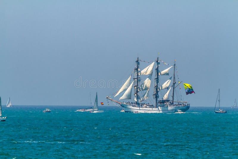 Skepp Guayas fotografering för bildbyråer